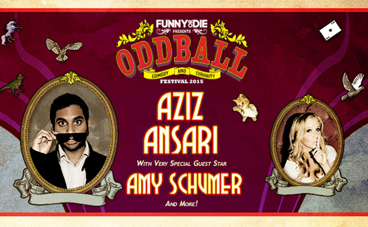 Oddball Comedy Tour with Amy Schumer, Aziz Ansari, Anthony Jeselnik Molson Canadian Amphitheatre, Toronto ON, September 6