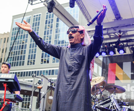 Omar Souleyman Yonge-Dundas Square, Toronto ON, June 20