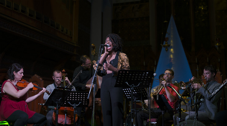 Queer Songbook Orchestra St. Alban's Anglican Church, Ottawa ON, August 19