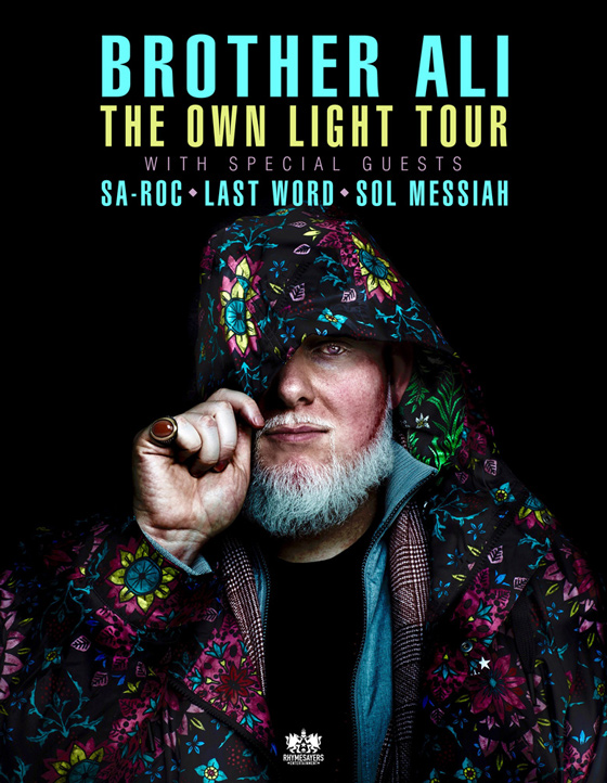 "Brother Ali Plots ""The Own Light Tour"""