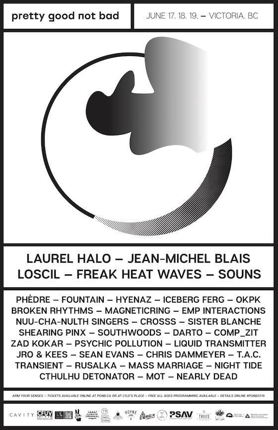 Laurel Halo, Jean-Michel Blais, Loscil Head to Victoria for Pretty Good Not Bad Fest