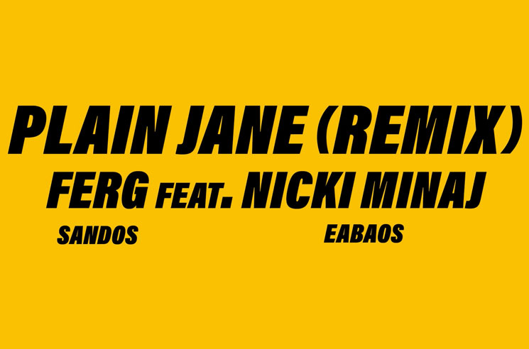 "A$AP Ferg ""Plain Jane"" (remix ft. Nicki Minaj)"