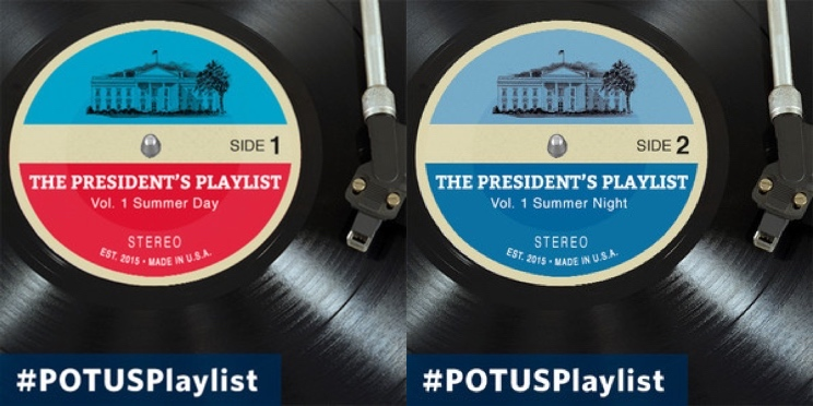 Barack Obama Curates His Own Presidential Spotify Playlists