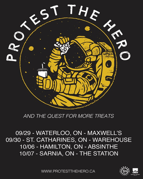Protest the Hero Map Out Southern Ontario Tour