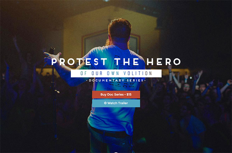 Protest the Hero Release 'Of Our Own Volition' Documentary, Eye Physical Release for 'Pacific Myth'