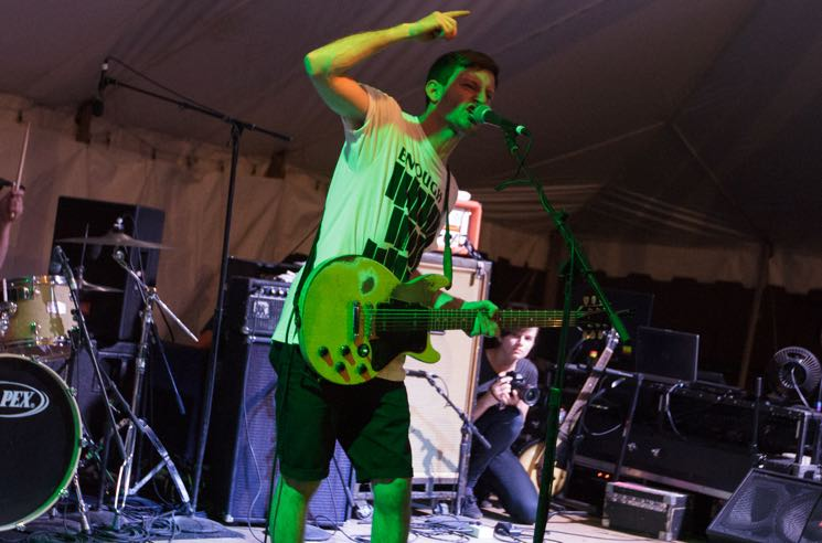 PUP Island Stage, Guelph ON, July 22