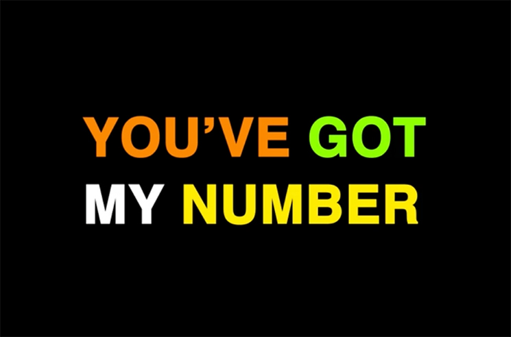"Paper Lions ""My Number"" (lyric video)"