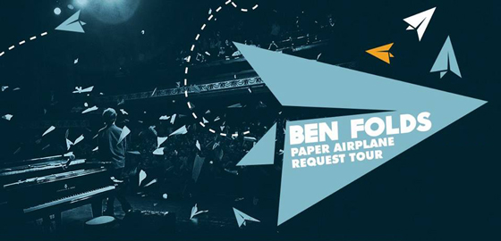 Ben Folds Maps Out 'Paper Airplane Request Tour'