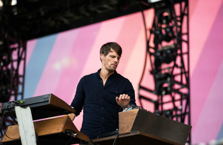 Tycho Bell Stage, Quebec QC, July 9