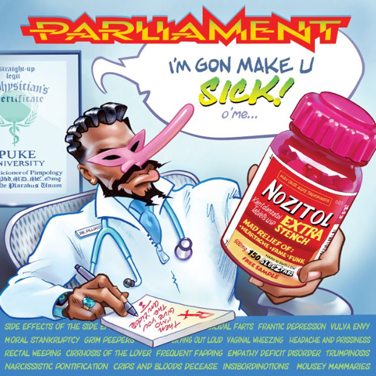 George Clinton Shares the First Parliament Song in 38 Years