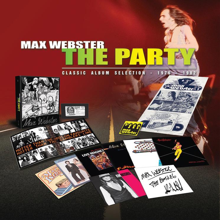Max Webster Unveil Career-Spanning Box Set