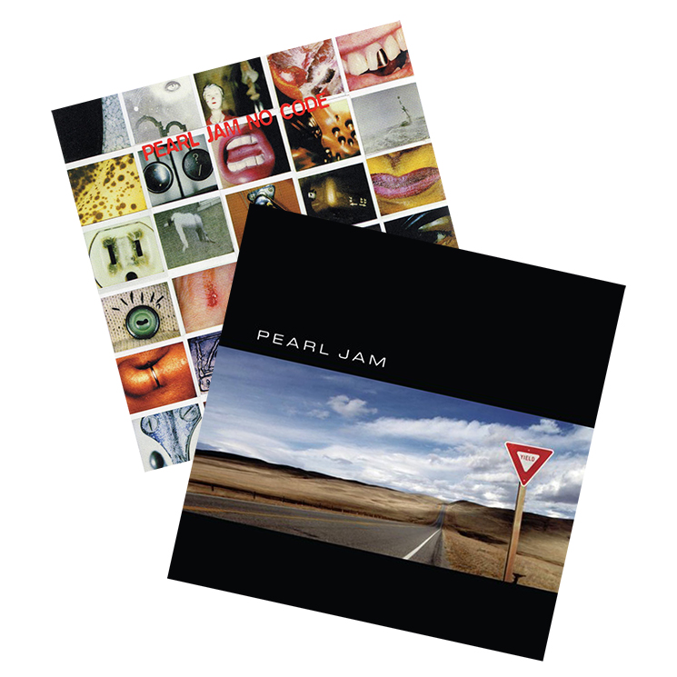 Pearl Jam Reissue 'No Code' and 'Yield' on Vinyl