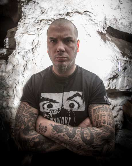 Phil Anselmo Flying the Metal Flag High