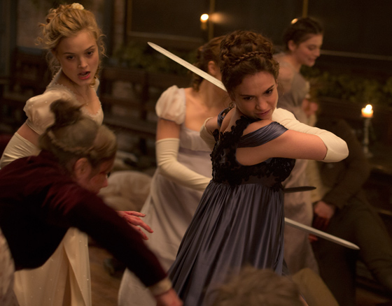 Pride and Prejudice and Zombies Burr Steers