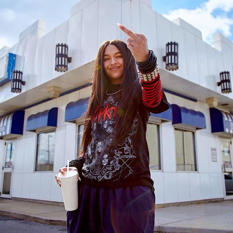 Princess Nokia A Girl Cried Red