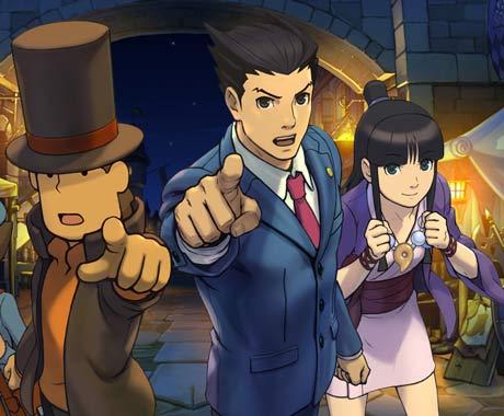 Professor Layton vs. Phoenix Wright: Ace Attorney Nintendo DS