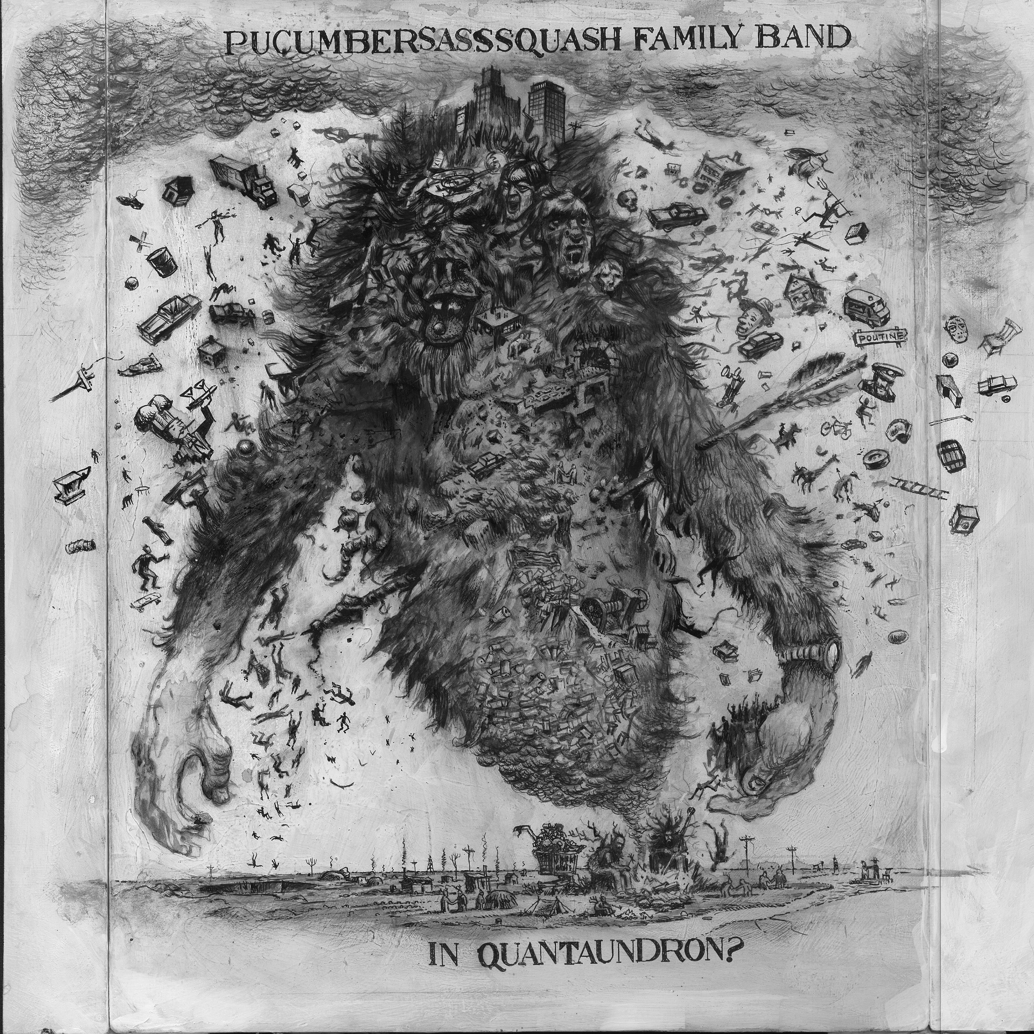 Pucumber Sasssquash Family Band 'Quantaundron?' (album stream)