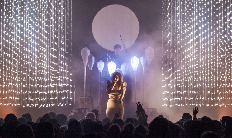 Purity Ring / HANA Vogue Theatre, Vancouver BC, October 18