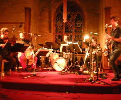 Quartetski / Gordon Grdina Trio The Music Gallery, Toronto ON, October 11