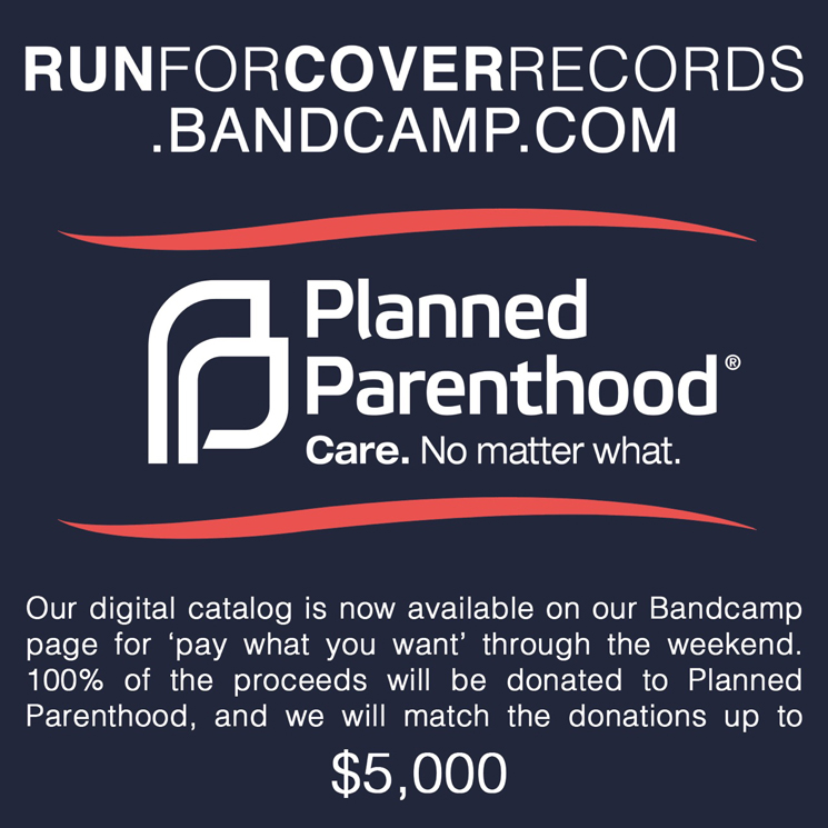Run for Cover Makes Its Catalogue PWYC in Support of Planned Parenthood