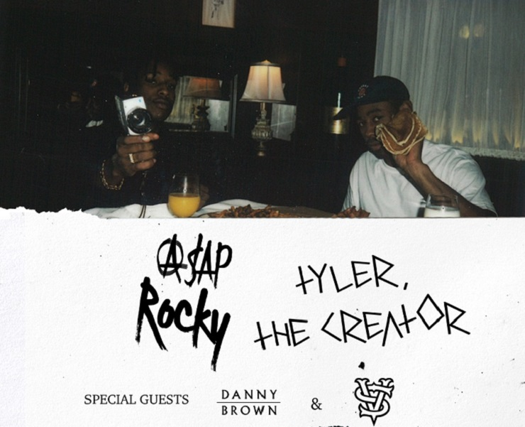A$AP Rocky and Tyler, the Creator Extend Joint Tour, Add Vancouver Date