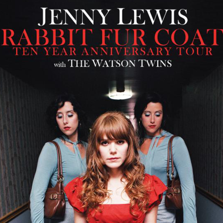 Jenny Lewis Extends 'Rabbit Fur Coat' 10th Anniversary Tour, Adds Toronto Show