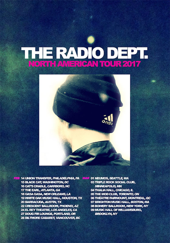 The Radio Dept. Plot North American Tour
