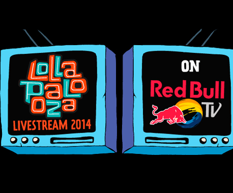 Lollapalooza 2014 Live Stream Powered by Red Bull TV