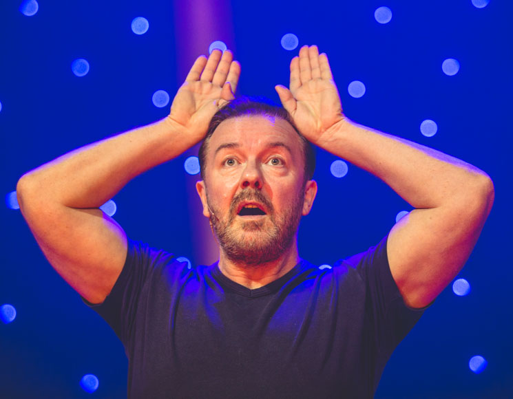 Ricky Gervais Massey Hall, Toronto ON, July 14