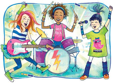 Girls Rock Camps Rock