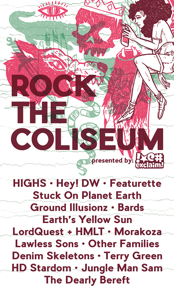 Mississauga's Rock the Coliseum Reveals 2016 Lineup