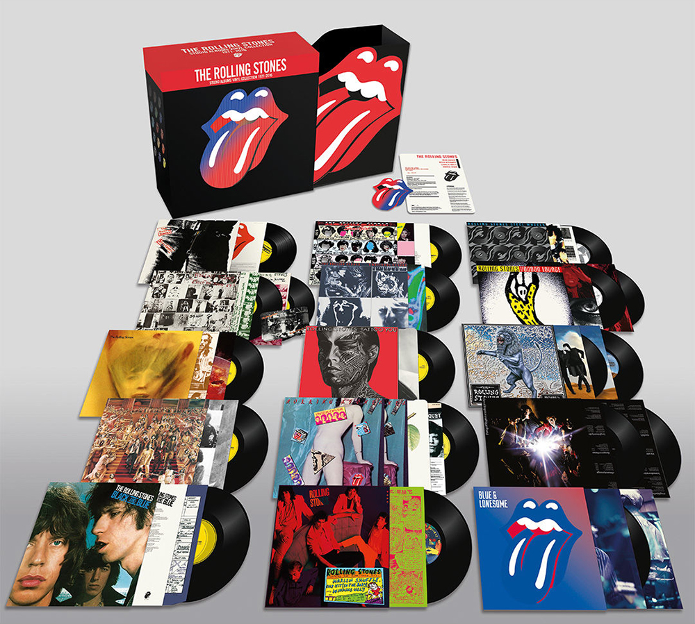 Rolling Stones Announce Massive Vinyl Box Set
