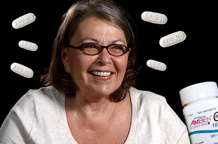 Roseanne Barr Blames Racist Twitter Rant on Ambien