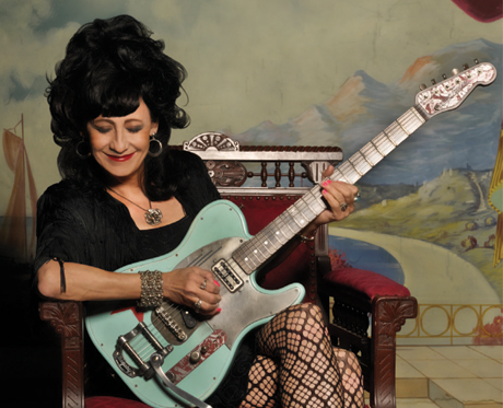 Rosie Flores Discusses the Sonic Diversity of 'Working Girl's Guitar'