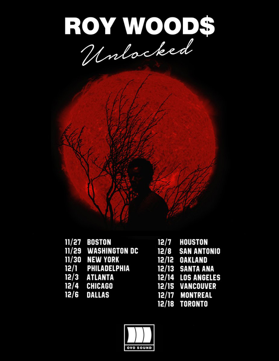 Roy Woods Plots 'Unlocked Tour'