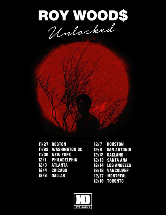 "Roy Woods Plots ""Unlocked Tour"""