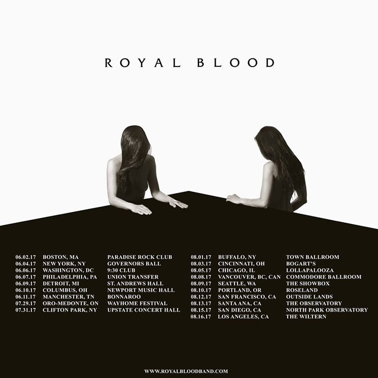 Royal Blood Map Out North American Tour