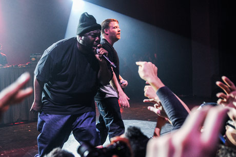 Run the Jewels Danforth Music Hall, Toronto ON, November 26