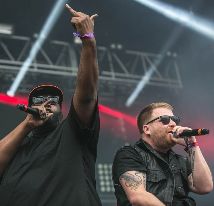 Run the Jewels WayHome Stage, Oro-Medonte ON, July 25