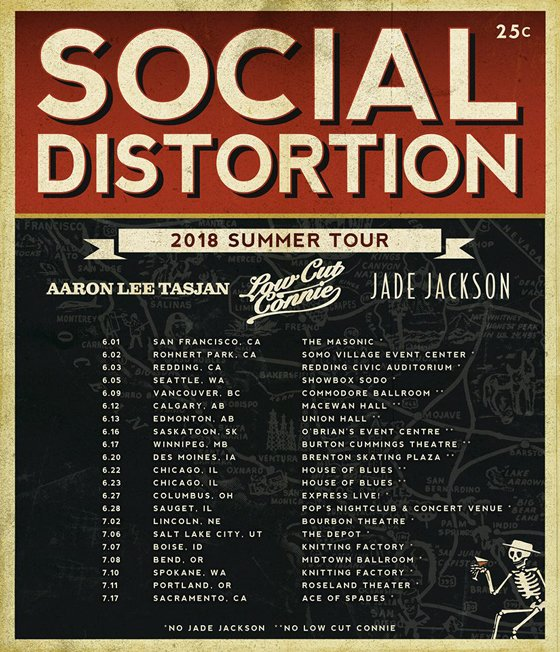 Social Distortion Map Out North American Summer Tour