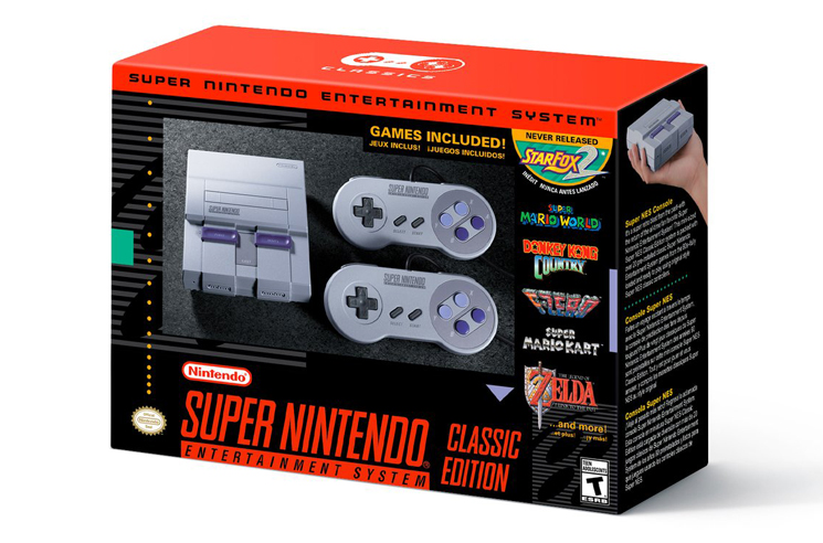 Nintendo Announces SNES Classic Edition