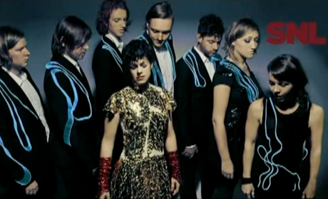 Arcade Fire Live on <i>SNL</i>