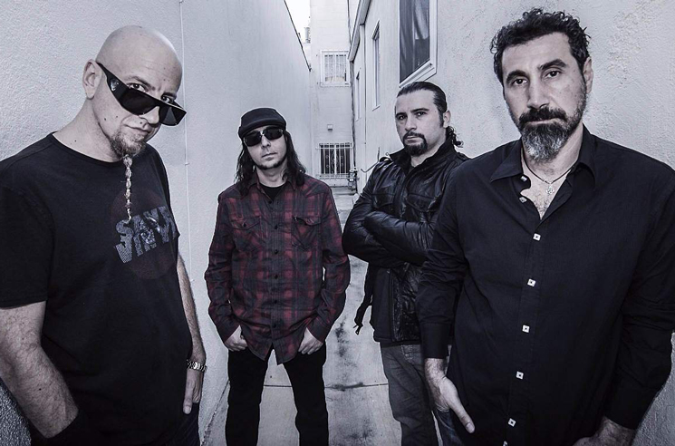 System of a Down Catalogue Treated to Vinyl Reissue Campaign