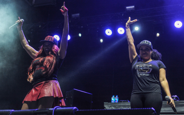Salt N Pepa / En Vogue / Maestro Fresh Wes / Fat Joe Echo Beach, Toronto ON, September 27