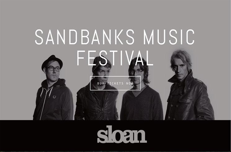Sandbanks Music Festival Gets Sloan, Snowblink, the Peter Elkas Band for 2016 Edition