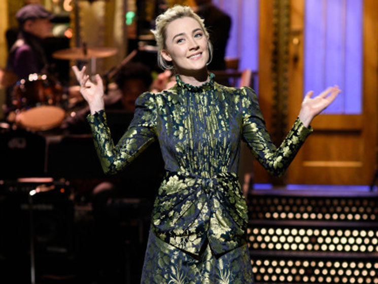 Irish People Are Pissed About Saoirse Ronan's 'SNL' Sketches