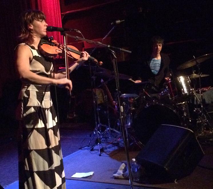 Sarah Neufeld / Eartheater Fox Cabaret, Vancouver BC, March 26