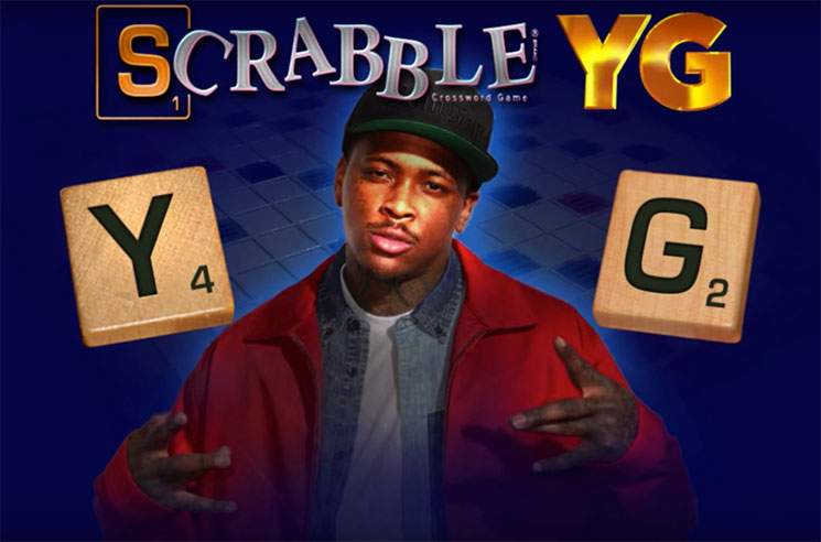 Watch YG Unveil His Own Version of Scrabble on 'Kimmel'