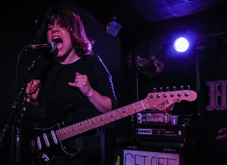 Screaming Females / Radiator Hospital Hard Luck Bar, Toronto ON, March 13
