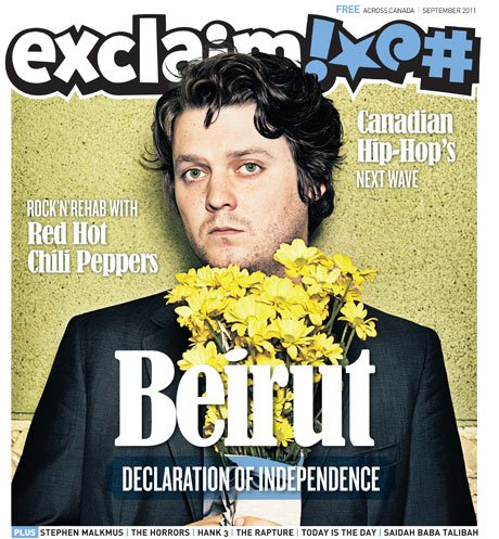 Head into Fall with Beirut, Red Hot Chili Peppers, Today Is the Day, Library Voices and More in Exclaim!'s September Issue